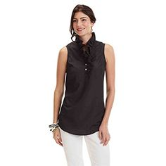 22637253080 WHITNEY SLEEVELESS TUNIC BLACK MEDIUM *** Click image to review more  details.Note. Mud PieMp ...