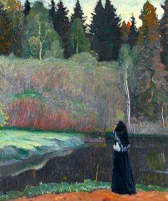 bofransson:  Mikhail NESTEROV, The Nightingale is Singing