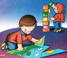 Material educativo para maestros: Espacios o Rincones de Educación Inicial