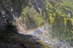 Arc en ciel aux Cascades d'Ars - Aulus les Bains 09