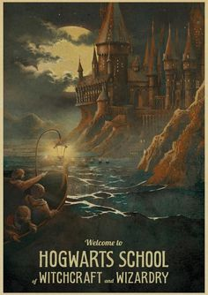 Vintage Posters of Harry Potter Movies