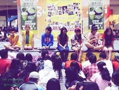 #fanmeeting #MeetnGreet PlasaCibubur 2 Des supprtd by @Theuthink |photo @kinangel31