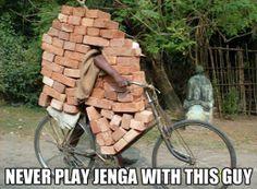 funny-jenga-play-guy-bike