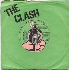 1978 The Clash - (White Man) In Hammersmith Palais [CBS (UK)] cover artwork inspiration: Roy Lichtenstein - Pistol Cover Art, Lp Cover, Roy Lichtenstein, Music Album Covers, Music Albums, Book Covers, The Clash, Keith Haring, Andy Warhol