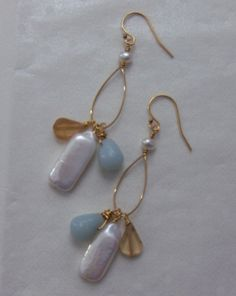 Items similar to I Love Paris In the Springtime Earrings on Etsy