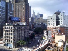 NYC. View from Soho Grand.