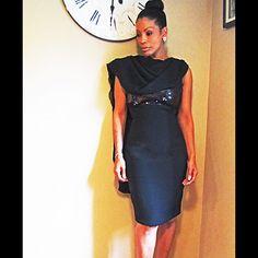 Badgley Mischka Little Black Dress.