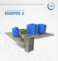 Hydro Z - Soluções para água  E.T.E. - Estação de Tratamento de Esgoto