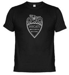 Camiseta logo ducati vintage 3