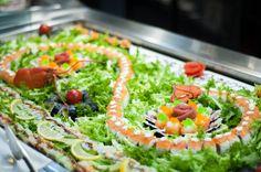 La nostra cucina Wok a buffet