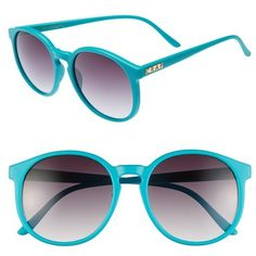 Women's CRAP Eyewear 'Human Fly' 57mm Sunglasses ($51) ❤ liked on Polyvore featuring accessories, eyewear, sunglasses, keyhole sunglasses, retro style sunglasses, retro sunglasses, keyhole glasses and retro glasses