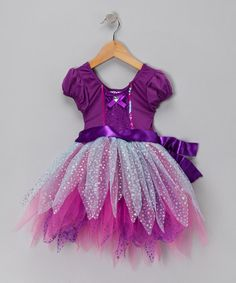 Love this line of fun clothes! Purple Magic Fantasy Dance Dress by Pretty Chic on #zulily today!