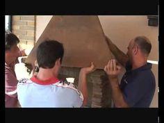 Superbe Barbecue en Brique Réfractaire, Barbecue en Pierre Reconstituée montage - YouTube