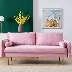 Living Room Bedroom, Living Room Furniture, Modern Furniture, Small Couch In Bedroom, Apartment Furniture, Fabric Sofa, Linen Fabric, Sofa Upholstery, Mid Century Sofa