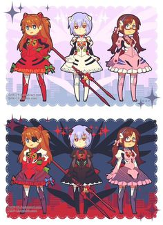 Magical Eva Girls?!