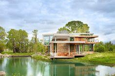 ESTILO RUSTICO: Casa Rustica y Moderna