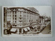 Strand Palace Hotel London Street Scene Art Deco 1920's 30's Real Photo Postcard | eBay