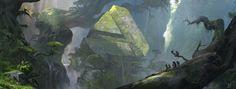 ArtStation - Jungle Temple Tutorial, Jorry Rosman