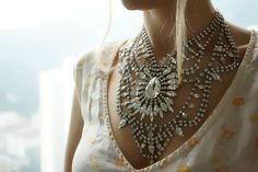 Madame Bovary  Stunning crystal clear swarovski by Bayila on Etsy