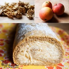 Kuchařka ze Svatojánu: PODZIMNÍ ROLÁDA Banana Bread, Cake Recipes, Rolls, Cookies, Sweet, Food, Dessert Ideas, Food Food, Crack Crackers