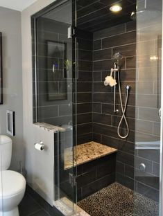 5 Clever Tips: Shower Remodel With Window Glass Blocks shower remodel diy bath tubs.Stand Up Shower Remodel Ideas easy shower remodel diy. Bathroom Interior, Modern Bathroom, Small Bathroom, Bathroom Ideas, Bathroom Organization, Bathroom Designs, Bathroom Renovations, Parisian Bathroom, Condo Bathroom