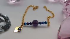 bracelet swarovski, DIY, tutoriel, La Perle des Loisirs http://laperledesloisirsleblog.blogspot.fr/2016/01/bracelet-swarovski-by-agathe-4.html