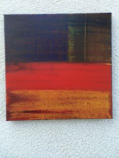 """""""Left to Right""""  acrylic on canvas, 12""""x12"""" Shawn Delaney painting."""