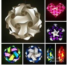 wholesale iiq puzzle light iq jigsaw lights party light Medium size diameter 330mm