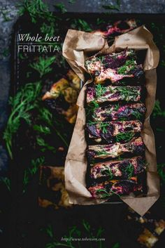 Whole beet frittata || to her core