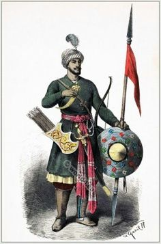 15th century Persian warrior