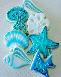 Ocean item cookies