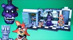 FNAF Parts / Service with Shadow Freddy & Withered Foxy | McFarlane Toys Wave 3 set review