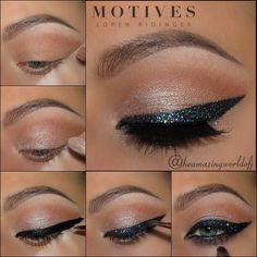 "10.2 tusind Synes godt om, 51 kommentarer – Motives Cosmetics Official (@motivescosmetics) på Instagram: ""Fabulous step-by-step blue bling pictorial by @theamazingworldofj using Motives!🌟🌟🌟 Get the look:…"""