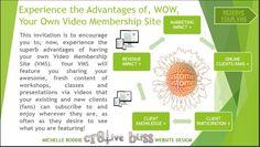 Cr8tive Bliss WordPress Website Design Solutions: 1) Web Design & Development 2) Video Membership Subscription Site 3) Content Marketing Design Image:  https://cr8tivebliss.com/services/