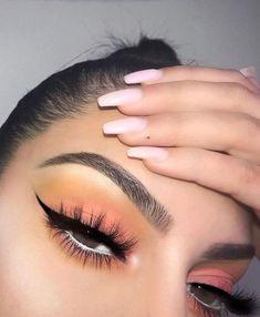 Sweet Ideal Makeup Ideas to Try - Make Up Time Glam Makeup, Makeup On Fleek, Cute Makeup, Pretty Makeup, Skin Makeup, Makeup Inspo, Eyeshadow Makeup, Makeup Inspiration, Eyeshadows
