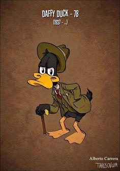 Cómo lucirían los personajes de Walt Disney y otros si envejecieran? Por Andrew Tarusov