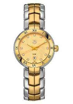 Tag Heuer WAT1451.BB0955 Watches,Women's Gold Dial Stainless steel, Women's Tag Heuer Quartz Watches