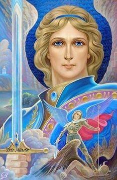 Isis Alada Catholic Archangels, Seven Archangels, Angel Hierarchy, Archangel Zadkiel, Space Drawings, Magic Symbols, Angel Crafts, Angel Pictures, Archangel Michael