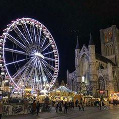 Son marché de Noël me va *comme un Gand !* - Plus au nord Le Palais, Saint, Fair Grounds, Comme, Travel, Posts, Instagram, Blog, Noel