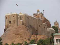 Tiruchirapalli Rock Fort, Tamil Nadu, South India. [http://en.wikipedia.org/wiki/Tiruchirapalli_Rock_Fort]