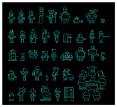 Futurama Robots on Behance