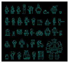 Futurama Robots on Behance