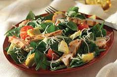 Use our Zesty Grilled Chicken Salad Recipe to make a salad for two! This grilled chicken salad recipe is easy to make with three steps and 15 minutes. Grilled Chicken Salad, Chicken Salad Recipes, Cooking Recipes, Healthy Recipes, Easy Recipes, Chopped Salad, Kraft Recipes, Summer Recipes, Dinner