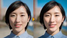 基礎から応用まで学ぼう! Photoshopおすすめチュートリアル (1)人物写真のレタッチ方法 | Adobe Creative Station