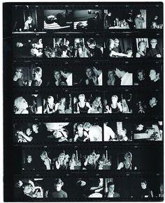 Stephen Shore: Contact sheet from Stephen Shore's first shoot at L'Avventura, © Stephen Shore Stephen Shore, Edward Steichen, Willem De Kooning, Helen Frankenthaler, Gil Elvgren, Jackson Pollock, Art Pop, Andy Warhol, Moma