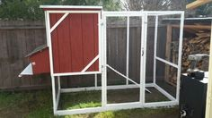 Simpson Strong-Tie Chicken Coop with modifications.