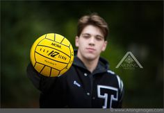 Water Polo senior pictures  #ArisingImages #Photography #TroyHighSchool…