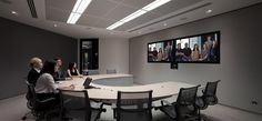 NAB HQ - Sydney Telepresence with Herman miller Sayl chairs