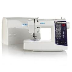 LCD-display Juki HZL-K85 Computerized Sewing Machine