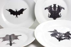 Rorschach test plates